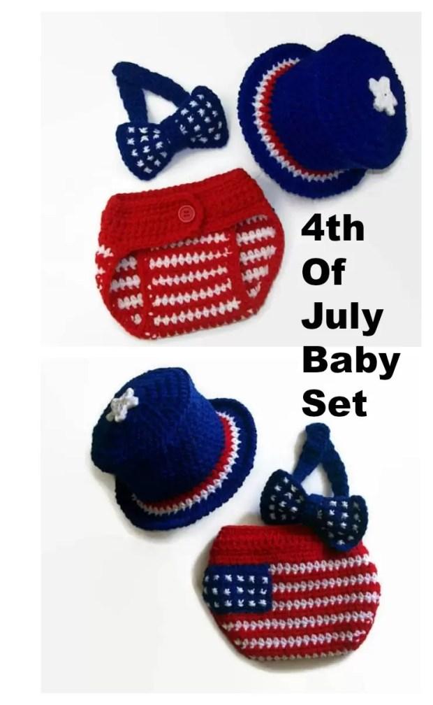 crochet 4th of july