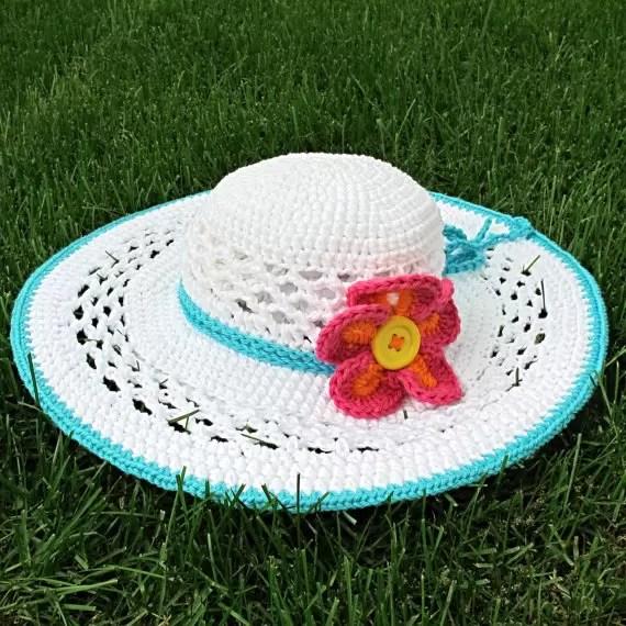 Crochet Sun Hat Pattern