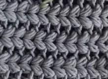 V Puff Crochet Stitch