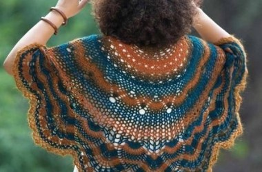 Patrón Capa a Crochet