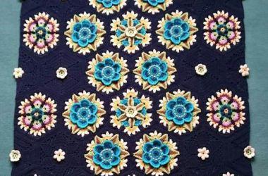 Crochet Manta Afgana
