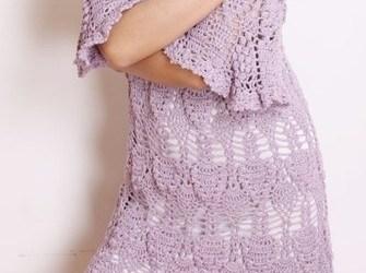 Esquema Vestido Crochet