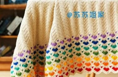 Gráfico Crochet Manta