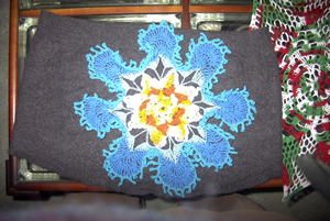 Pond Lily Afghan - unblocked from sheilaschnauzies site