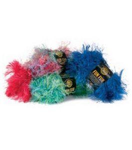 eyelash yarn lion brand crochet
