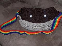 noahs ark tote bag crochet