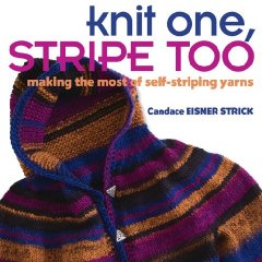 CANDACE EISNER STRICK  KNIT ONE, STRIPE TOO, SELF STRIPING YARN