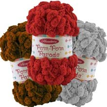 Pompom Parade Yarn by Herrschners
