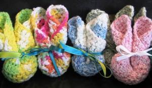 crochet washcloth bunny