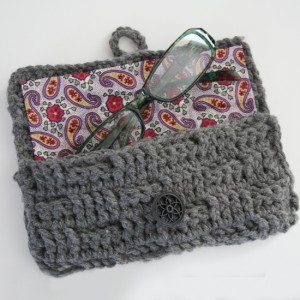 Crochet Eyeglass Case