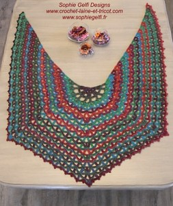 A New Shawl   Crochet