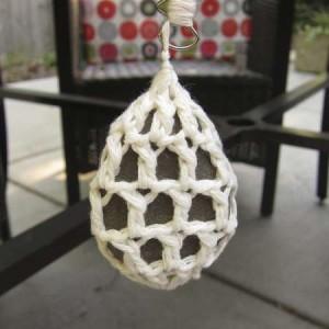 crochet rock cover