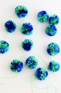 crochet pompoms in bulk