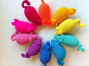 Easy Peasy Catnip Mouse Toy