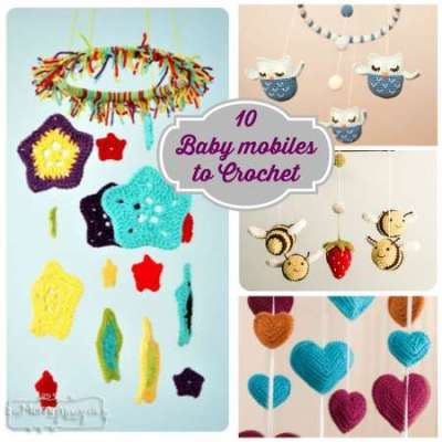 10 baby mobiles to crochet