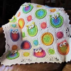 cro owl blanket 0714