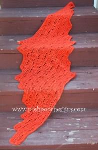 cro leaf shawl 1 0814