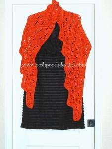 cro leaf shawl 2 0814