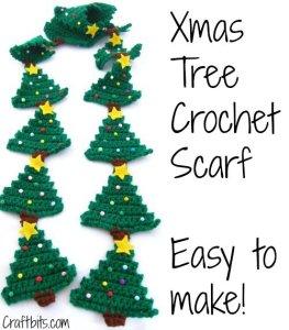 cro xmas tree scarf 0914