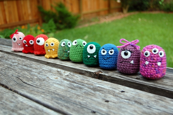 Ravelry Find – Baby Monster