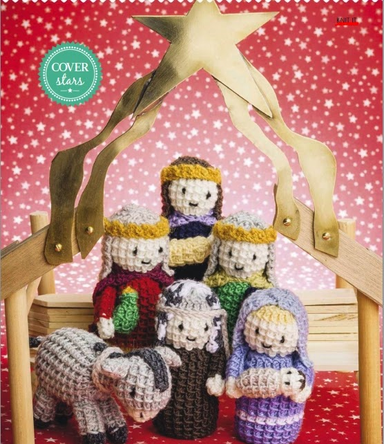 sweet Christmas nativity characters