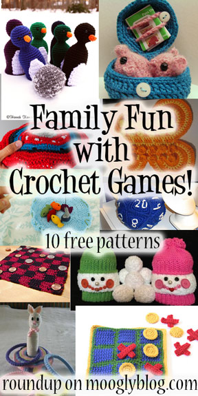 Free patterns – Game Night Anyone?