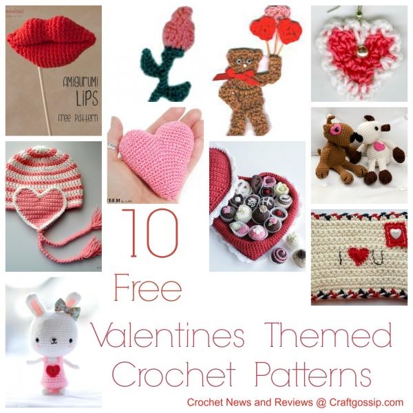 Valentine s Day Crochet Patterns : Free Patterns ? 10 Valentine s Day Crochet Patterns ? Crochet