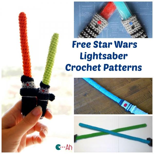 Light Saber List Crochet