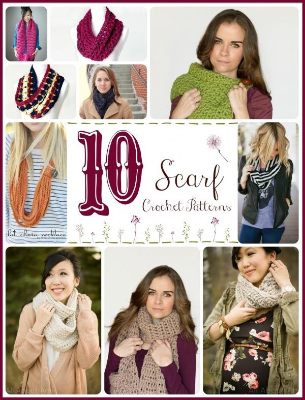 10 Free Warm Winter Cowl Crochet Patterns 1