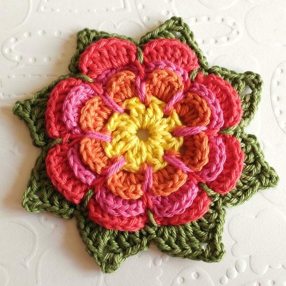 crochet-pattern-flower-free
