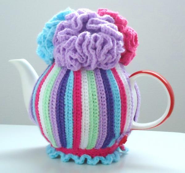 Free Pattern Tea Cozy Crochet