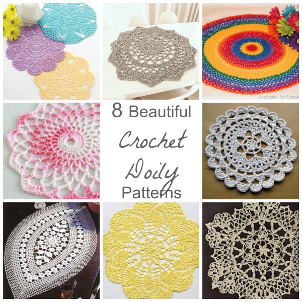 8 Beautiful Crochet Doily Patterns Crochet