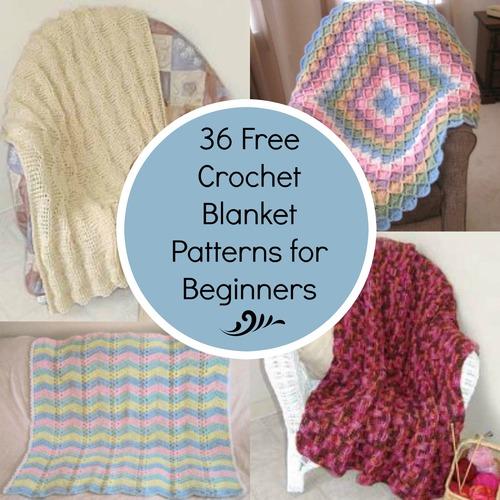 36 Crochet Afghans For Beginners Crochet