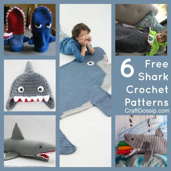 Free Crochet Pattern | Baby Shark Chunky Amigurumi | Keep Calm and ... | 600x600