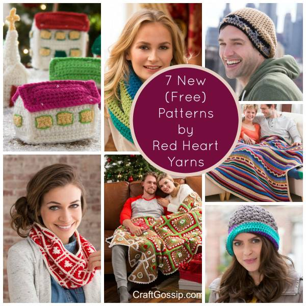 6 New Patterns From Red Heart Yarns Crochet
