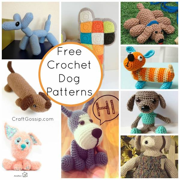 Crochet Dog Patterns Crochet