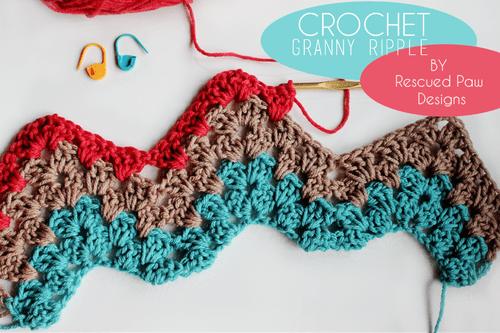 Granny Ripple Stitch Tutorial: Crochet Tutorial