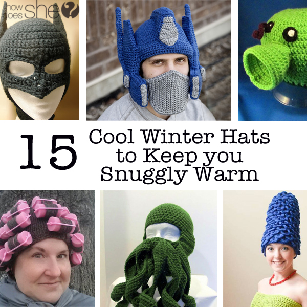 15 winter crochet hats to keep you warm but looking cool