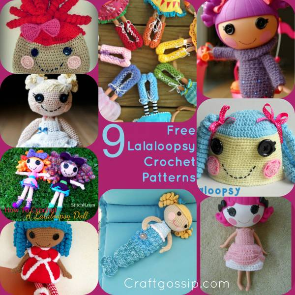 9 Free Lalaloopsy Patterns Crochet