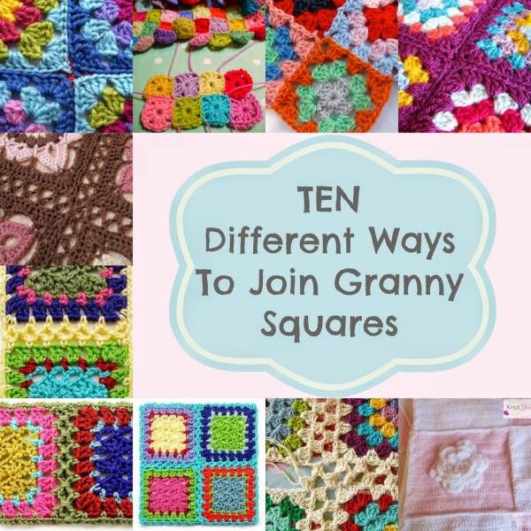 Granny Squares joining methods