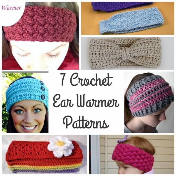 7 Ear Warmer Patterns – Crochet
