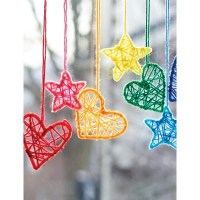 Hearts and  Stars Hanging Dream Catchers