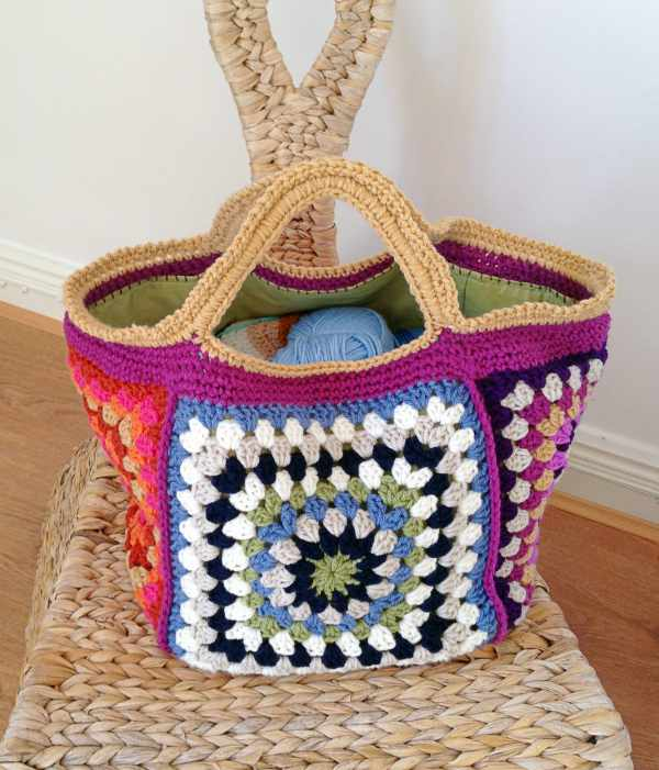 Finished-granny-project-bag