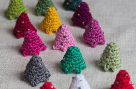 Mini Crochet Christmas Tree