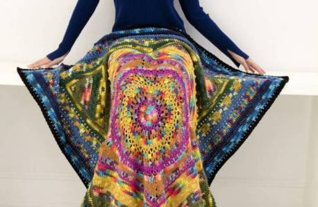 Free Pattern – Mandala Afghan