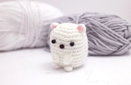 Amigurumi Mini Polar Bear