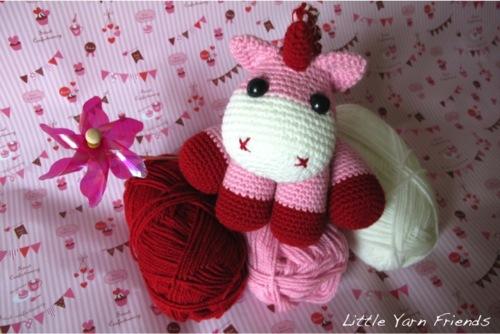 Free Amigurumi Unicorn Pattern : Free pattern u amigurumi unicorn u crochet