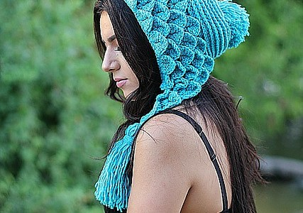 Crocodile Capuche Stitch Hood