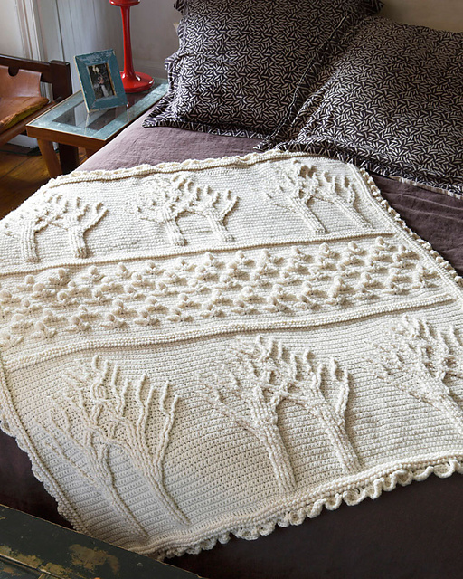 Tree Of Life Afghan