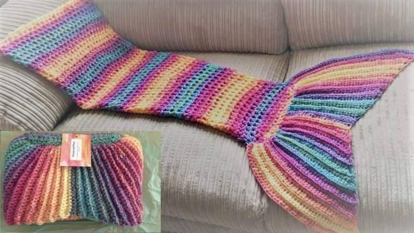 Free Pattern Rainbow Mermaid Tail Crochet